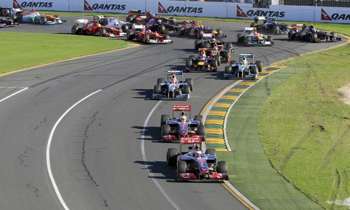 gp f1 australia 2012