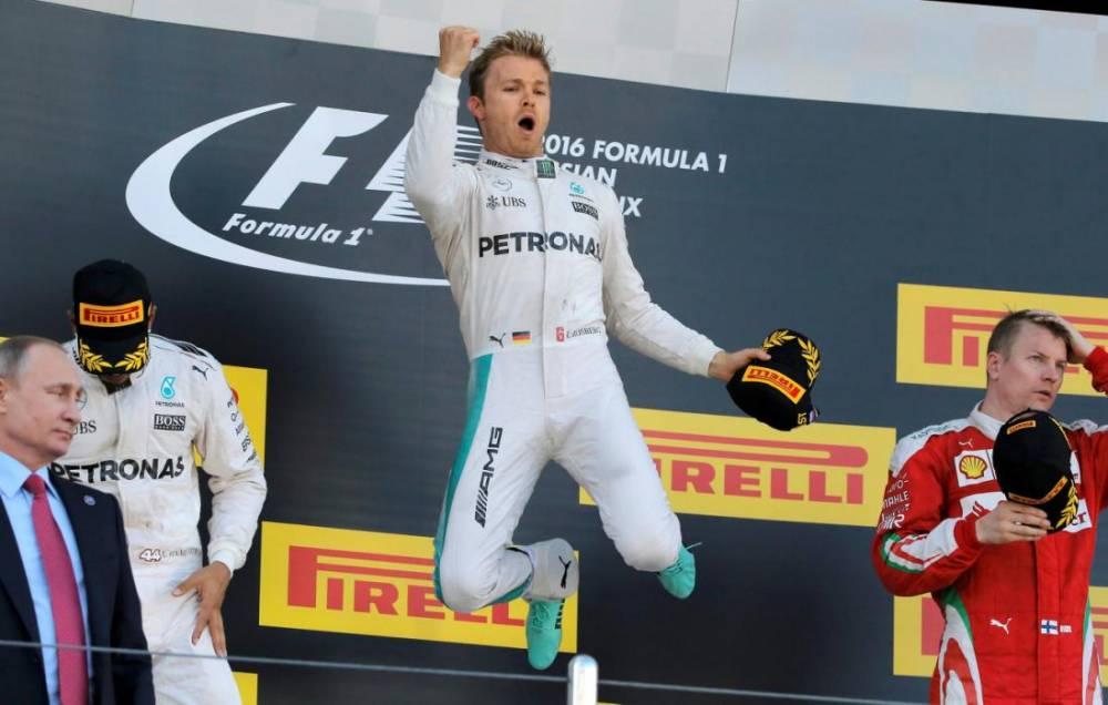 podio gp russia f1