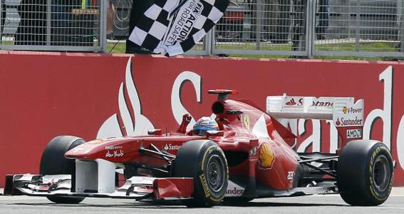 alonso winner f1 silverstone