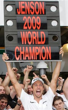 button champion f1 ´09