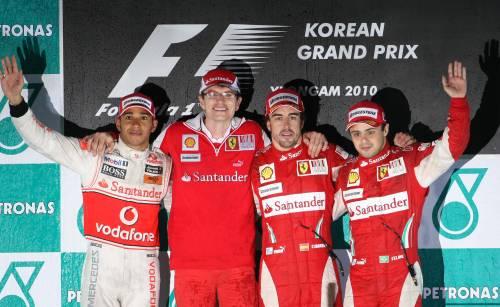 podio corea f1
