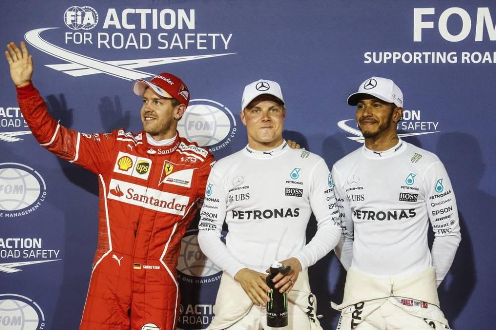 F1_GP_Bahrain_sabato il terzetto della pole