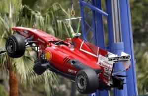 la rossa di Alonso montecarlo