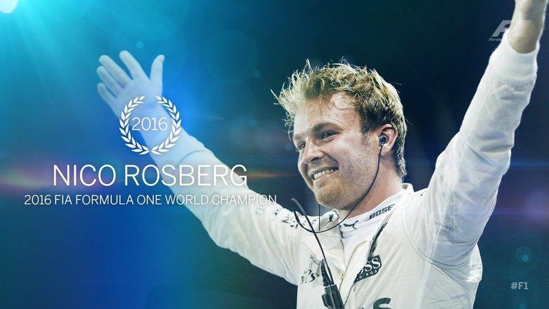 rosberg campione del mondo 2016