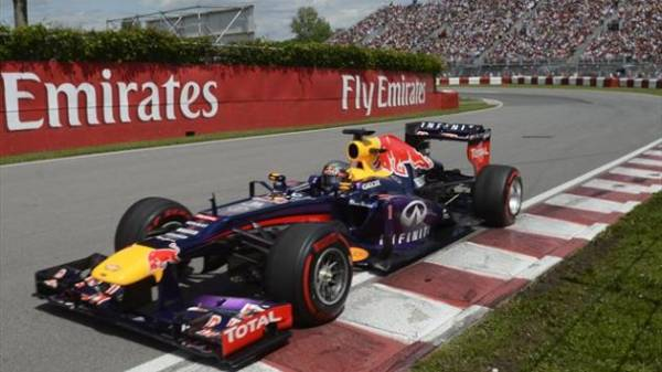 gp del canada Vettel